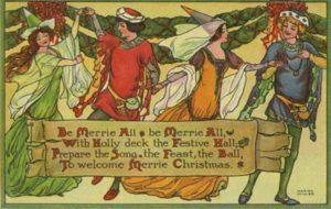 A medieval Christmas carol